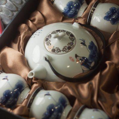 Чайный набор Бесконечная лазурь